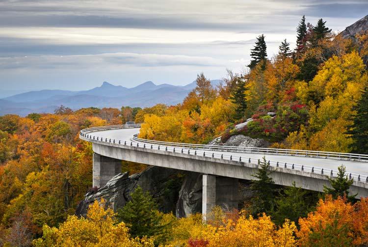 Blue Ridge Parkway Bridging