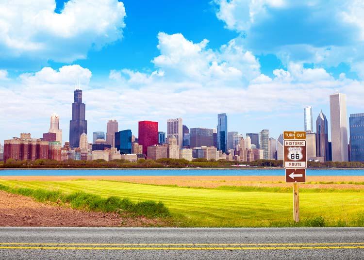Route 66 Chicago Illinois