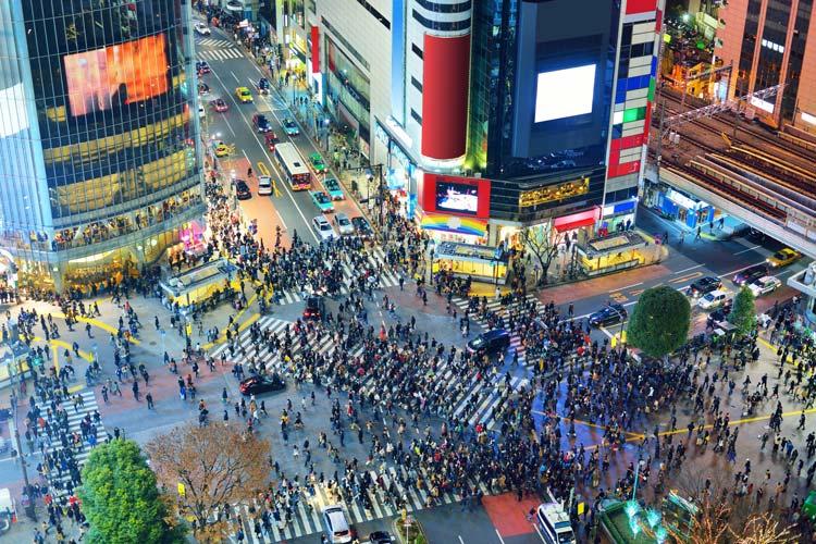 Tokyo Pedestrians