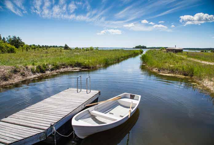 Muhu Island Estonia