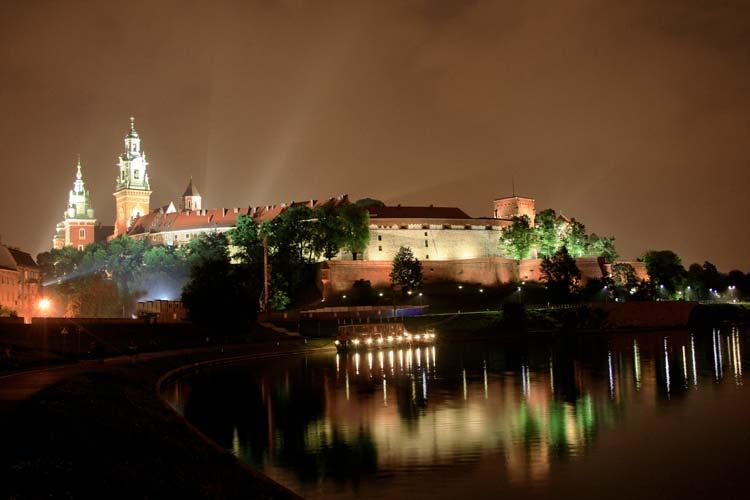 Nightlife Krakow, Poland