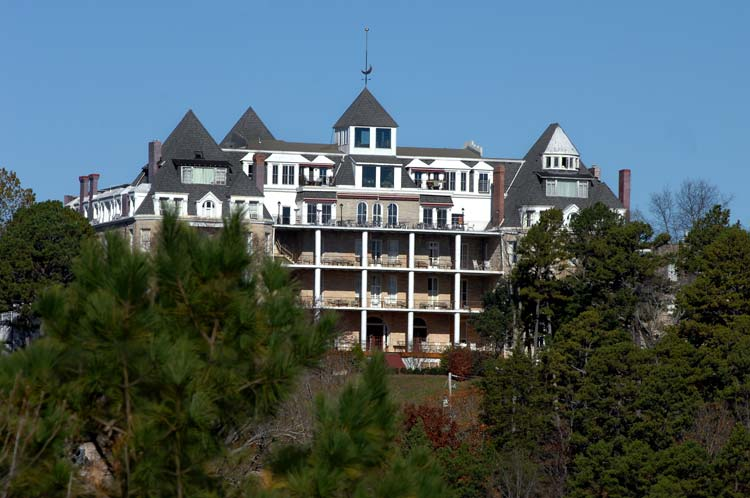 The Crescent Hotel, Eureka Springs Arkansas