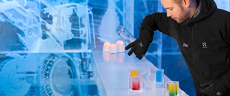 Absolut Ice Bar, by Icehotel, Stockholm, Sweden