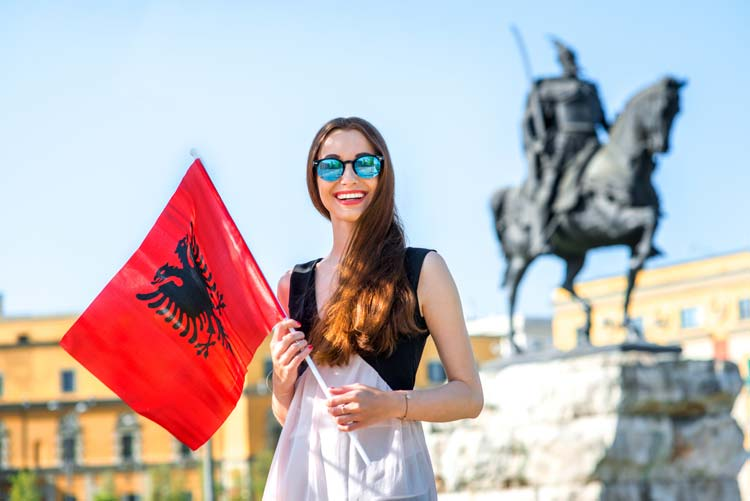 Albanians are very hospitable