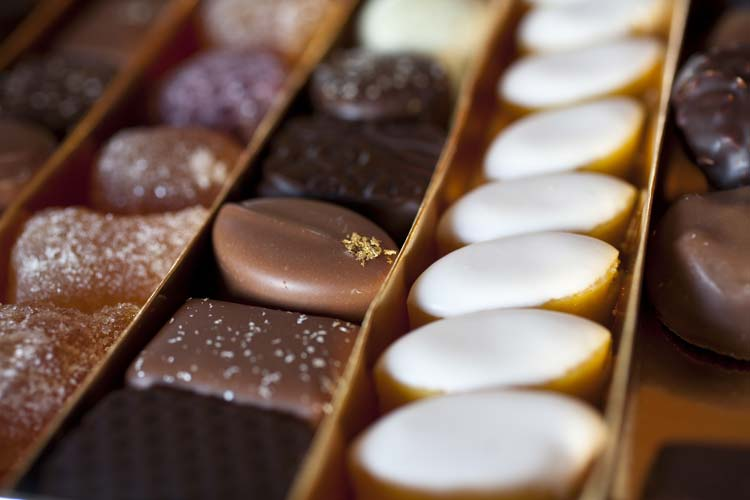 Assortement of French Traditional Fine Chocolates