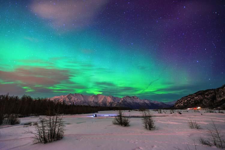 Aurora Borealis Denali National Park, Alaska