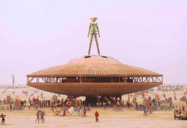 Burning Man Festival Black Rock Desert, Nevada, Arizona, USA