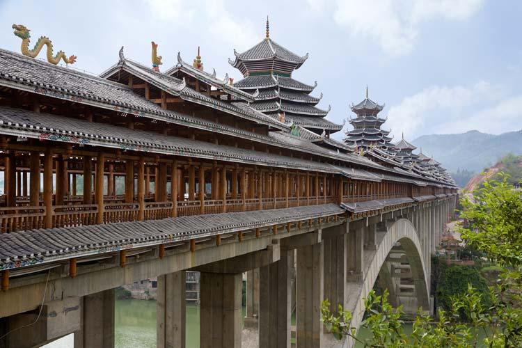 Chengyang Bridge, Sanjiang County, China