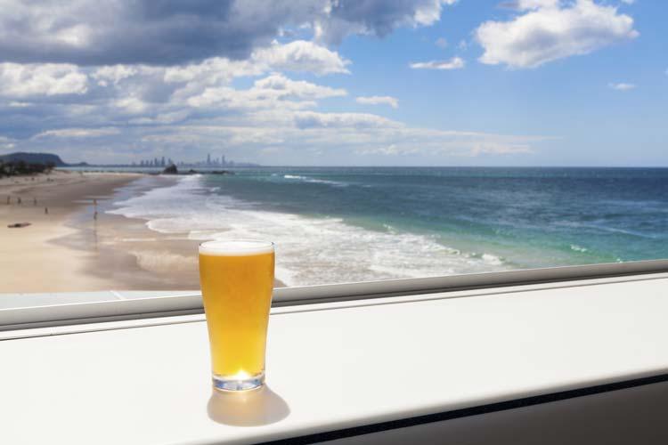 Cold Beer on Australian Beach