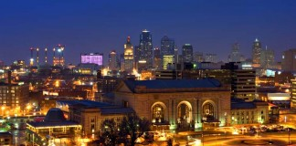 Kansas City Missouri by Night