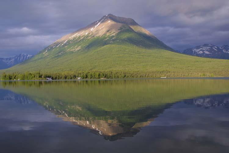 Mount Tanalian in Lake Clark National Park and Preserve, Alaska