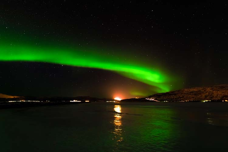 Northern Light in Alta, Norway