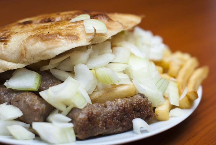 The Bosnian Kebab Cevapi