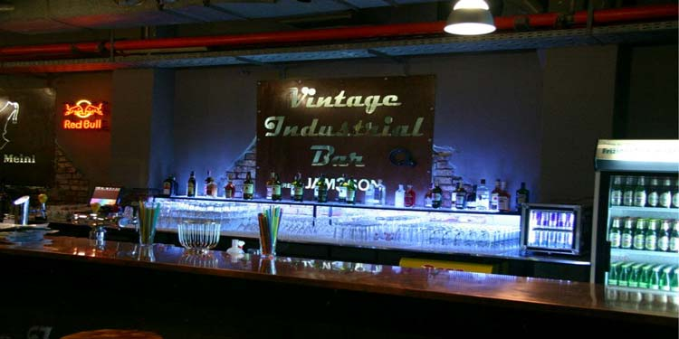 Vintage Industrial Bar in Zagreb