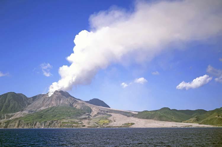 Volcano of Montserrat