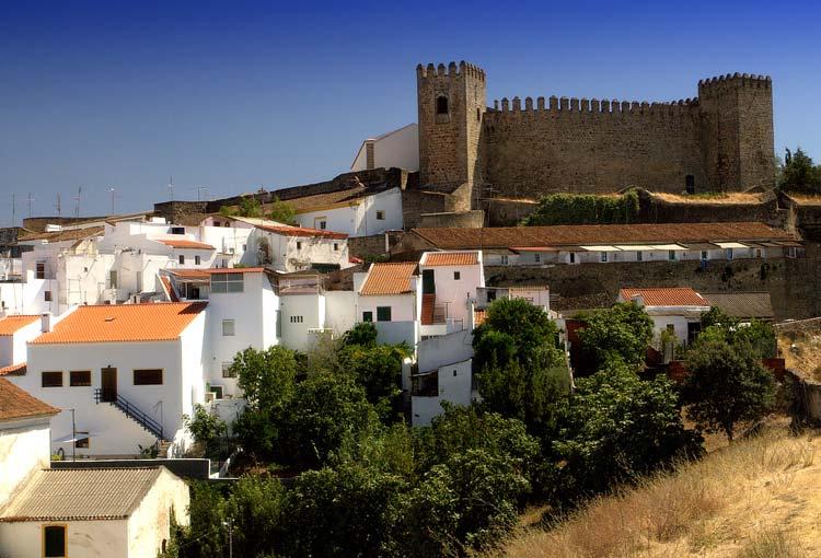 Castelo de Campo Maior, Portugal