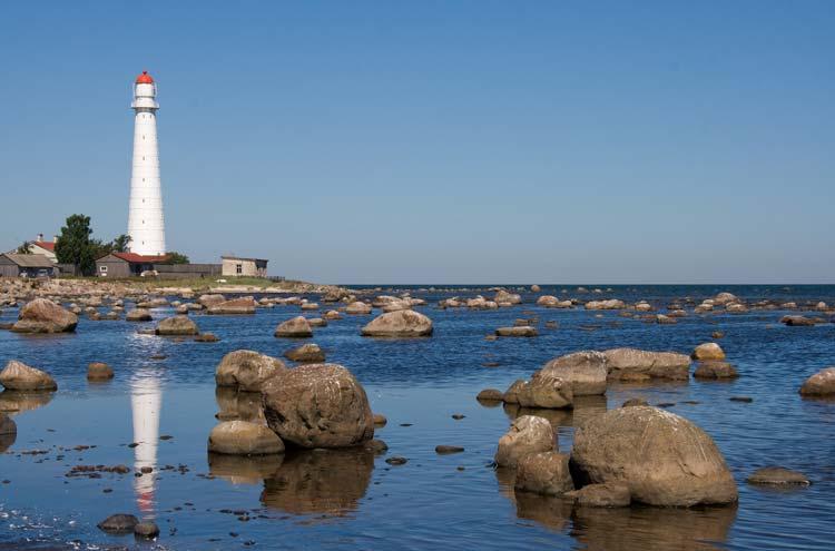 Lighthouse on Hiumaa Island, Estonia