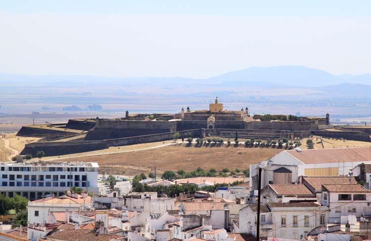 Museu militar forte de Santa luzia, near Elvas, Portugal