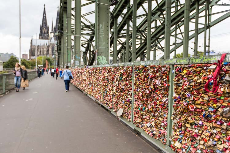 Hohenzollern Bridge Cologne Germany