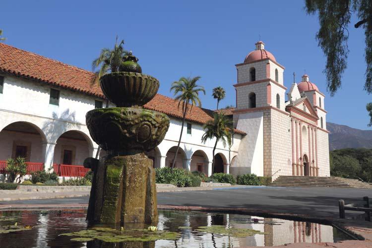 Mission of Santa Barbara, California