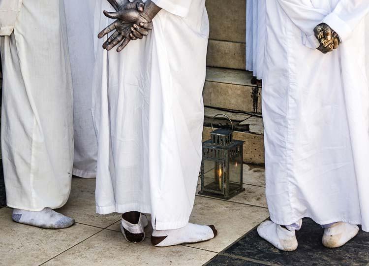 Ritualistic Haitian Voodoo Prayer
