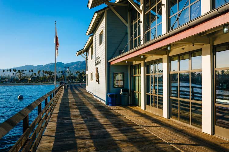 Sea Center at Stearn's Wharf, in Santa Barbara, California