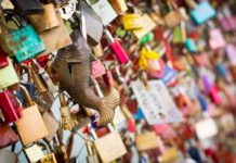 best places in the world to Lock Your Love Forever