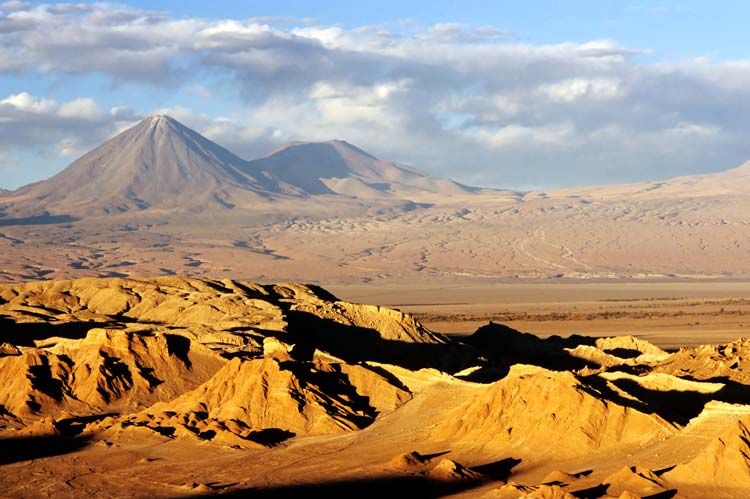 Atacama Desert in South America
