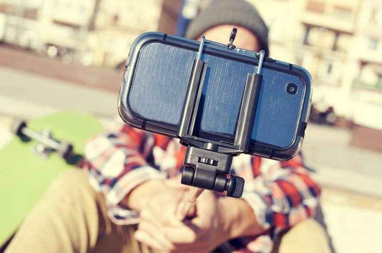 Camera, camera bag or even a selfie stick