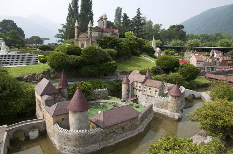 Miniature Castle in Switzerland