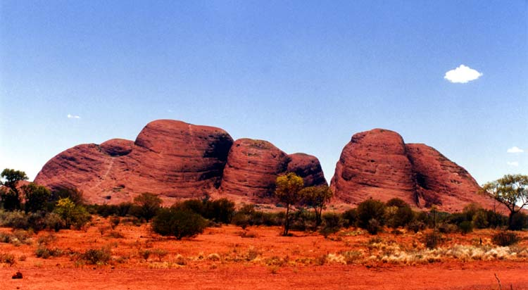 Olgas in Northern Territory Australia