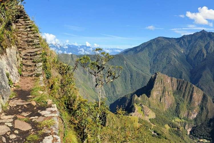 The Huayna Picchu in Peru