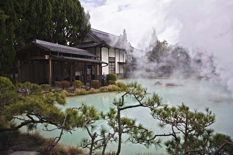 Beppu Onsen Hot Spring in Japan