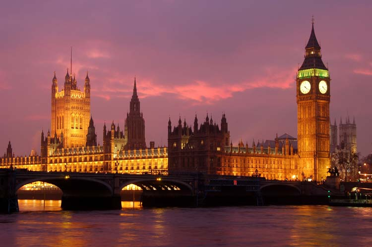 Big Ben in London, Great Britain