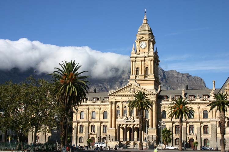 Clock Tower in Cape Town