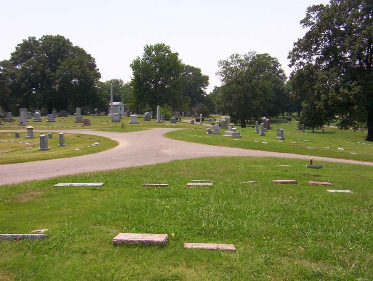 Forest Hill Cemetery in Memphis, Tennessee