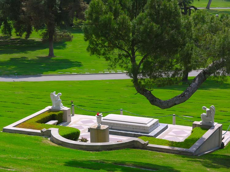 Forest Lawn Memorial Park in California, USA