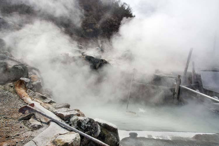 Hakone Onsen in Japan