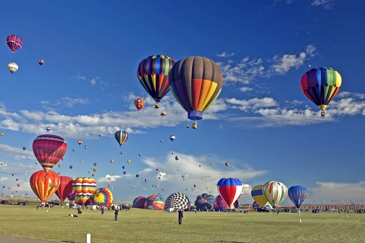 International Balloon Fiesta in Albuquerque, New Mexico