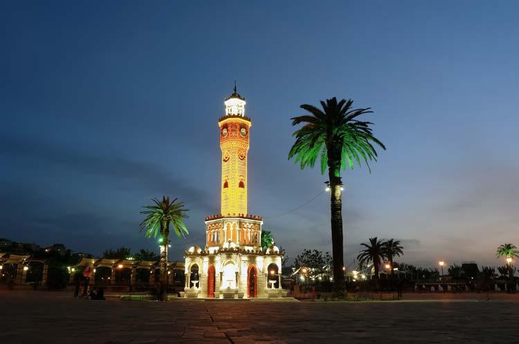 Izmir Clock Tower in Turkey