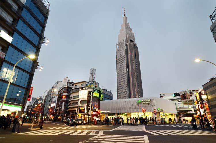 NTT Docomo Yoyogi Building in Tokyo