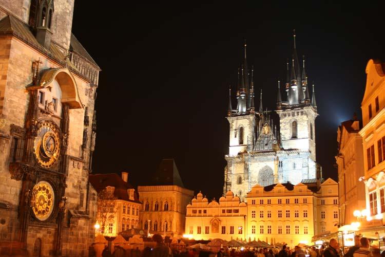 Old Town Hall in Prague, Czech Republic