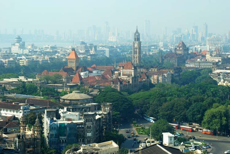 Rajabai Clock Tower in South Mumbai
