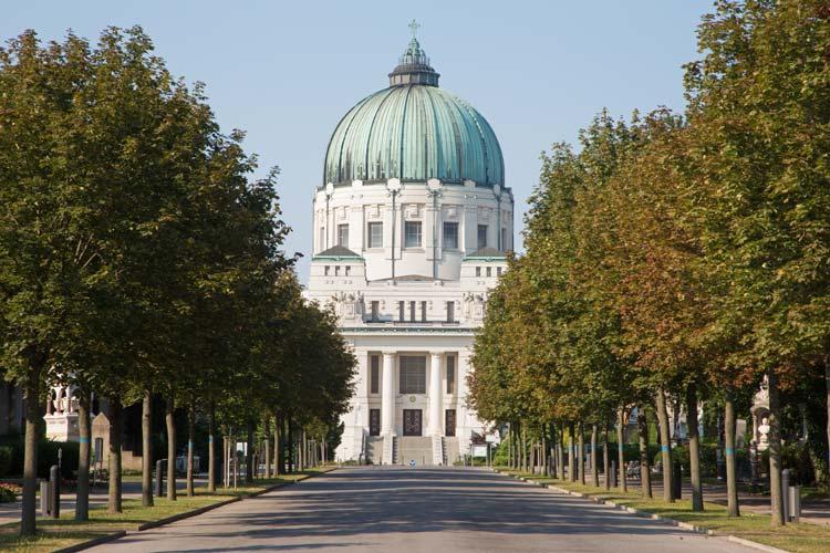 Zentralfriedhof in Vienna, Austria