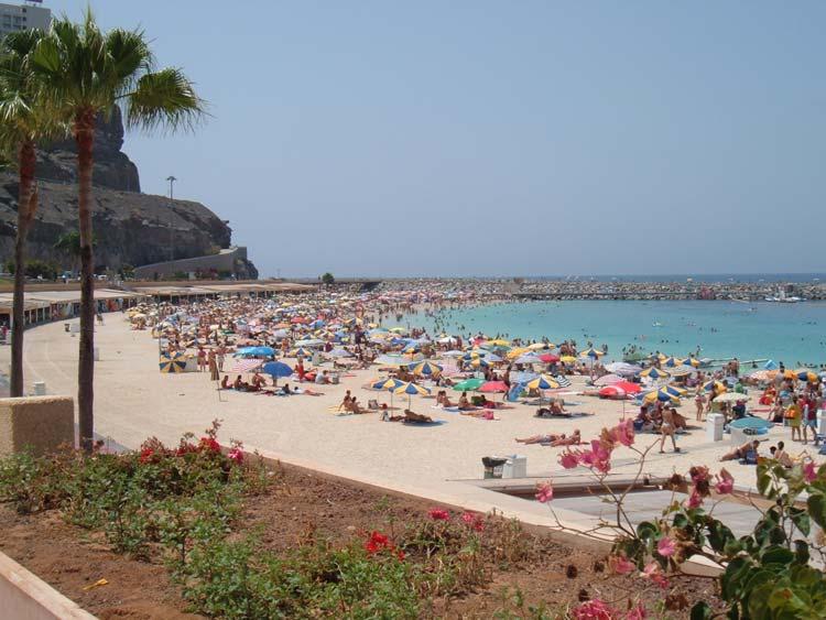 Beach in Puerto Rico, Gran Canaria