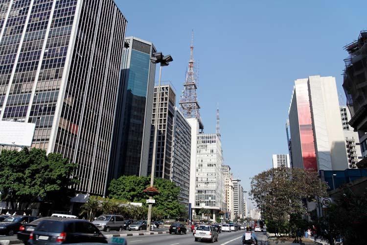 Downtown Sao Paulo, Brazil