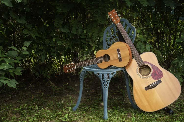 Guitalele and Guitar