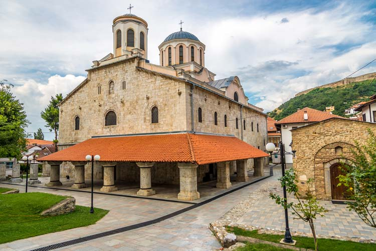 Historic Church in Prizren, Kosovo