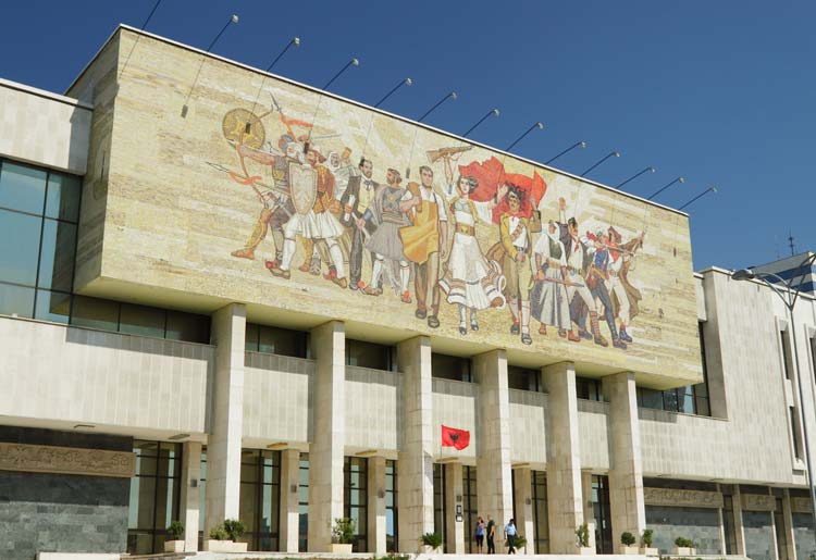National Historical Museum Tirana