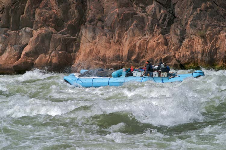 Rafting Through Grand Canyon